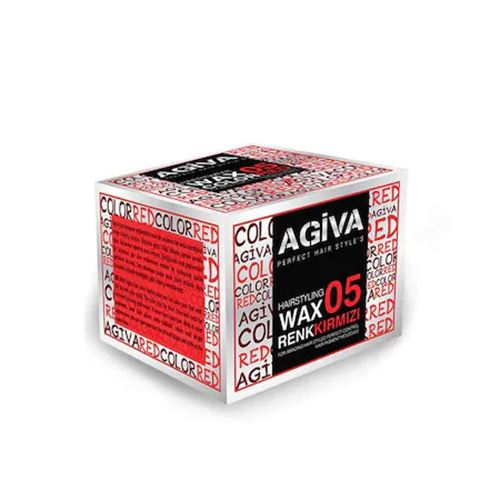 AGİVA WAX 05 KIRMIZI 120ML