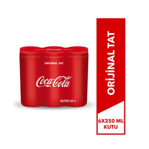 COCA COLA  6X250 ML KUTU